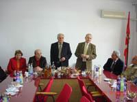 Vizitë në Maqedoni e delegacionit të Gjykatës Kushtetuese