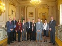 Vizitë studimore të një delegacioni të Gjykatës Kushtetuese të Shqipërisë pranë Gjykatës Kushtetuese të Italisë, 22 – 23 nëntor 2012