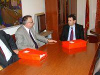 Vizitë e një delegacioni të Gjykatës Kushtetuese të Republikës së Kosovës