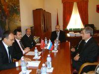Vizitë e një delegacioni të Gjykatës Kushtetuese të Republikës së Sllovenisë